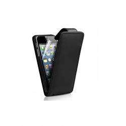 Etui cuir noir Iphone 5
